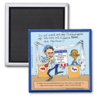 Romney Tries Zingers on Obama Funny Gifts & Cards Refrigerator Magnet