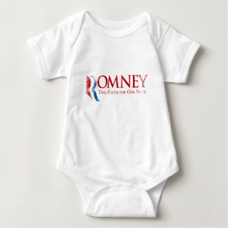 Romney - Two Faces for one Vote Faded.png Tees
