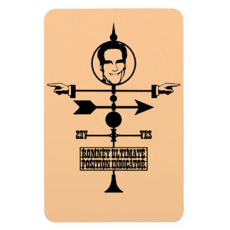 Romney Ultimate Position Indicator Rectangular Photo Magnet