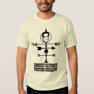 Romney Ultimate Position Indicator T-shirts