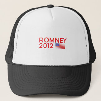 ROMNEY-USA-FLAG TRUCKER HAT