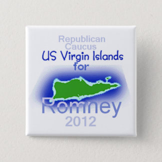 Romney VIRGIN ISLANDS Button
