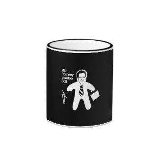Romney Voodoo Doll Ringer Coffee Mug