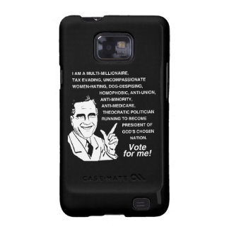 Romney Vote for Me png Samsung Galaxy Case