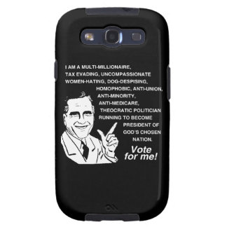 Romney Vote for Me png Samsung Galaxy S3 Covers