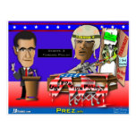 Romney vs Command O Post Card