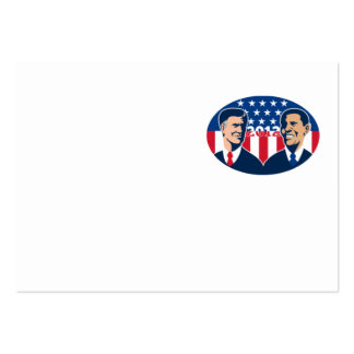 Romney Vs Obama American Elections 2012 Large Business Cards (Pack Of 100)