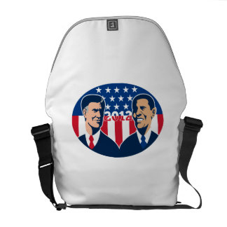 Romney Vs Obama American Elections 2012 Messenger Bag