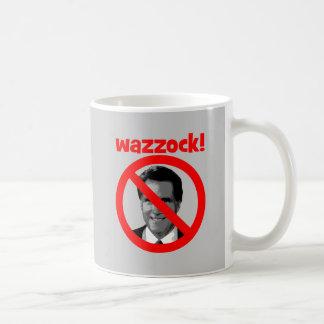 Romney wazzock coffee mug