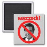 Romney wazzock fridge magnet