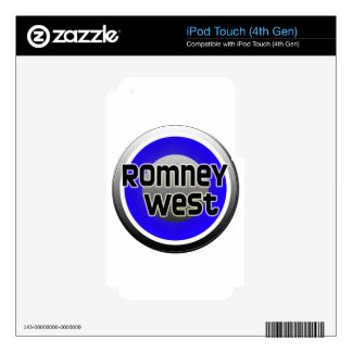 Romney West 2012 Skin For iPod Touch 4G