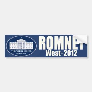 Romney West - Mitt Romney President Allen West VP Bumper Sticker