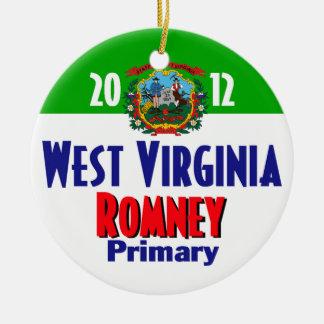 Romney WEST VIRGINIA Ornament