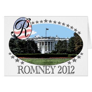 Romney White House 2012 Card