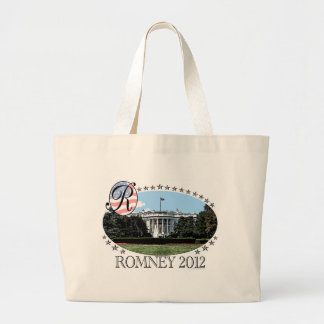 Romney White House 2012 Large Tote Bag