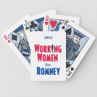 ROMNEY Women Bicycle Playing Cards