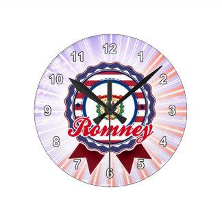 Romney, WV Round Wallclocks