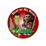 Romney y Che Obama Tarjeta Postal