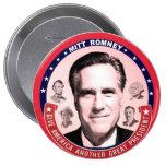 Romney y grandes presidentes pins