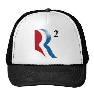 """Romney y Ryan 2012 - """"R ajustados """" Gorros"""
