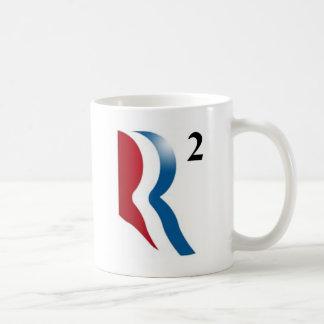 """Romney y Ryan 2012 - """"R ajustados """" Taza Clásica"""