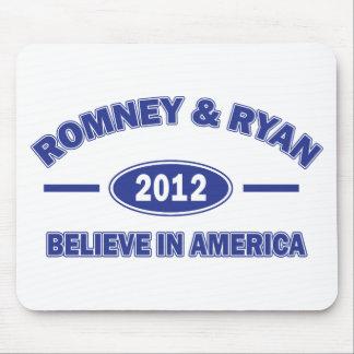 Romney y Ryan creen Alfombrilla De Ratones
