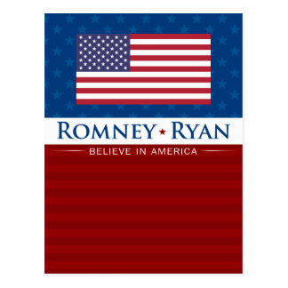 Romney y Ryan creen en América Postales
