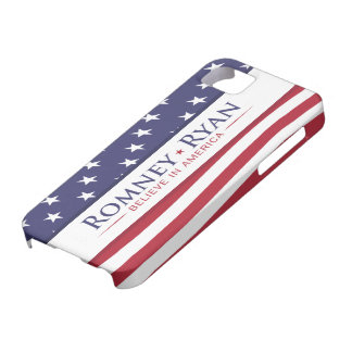 Romney y Ryan creen en caso del iPhone 5 de Améric iPhone 5 Case-Mate Protector