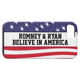 Romney y Ryan creen en caso del iPhone 5 de Améric iPhone 5 Protector