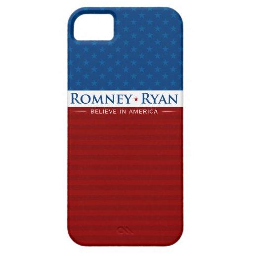 Romney y Ryan creen en el caso de América iPhone 5 Carcasa