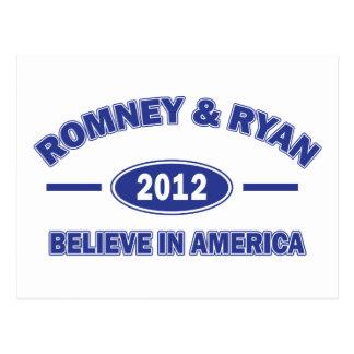 Romney y Ryan creen Postales