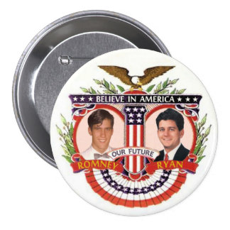 Romney y Ryan: El R&R Kidz Pin