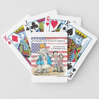 Romney y Ryan sus mis regalos y tarjetas divertido Barajas De Cartas