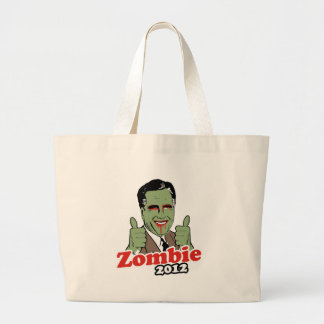 Romney Zombie 2012.png Tote Bags