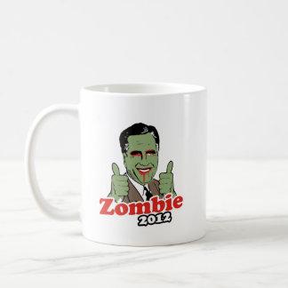 Romney Zombie 2012.png Classic White Coffee Mug