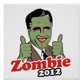 Romney Zombie 2012.png Posters