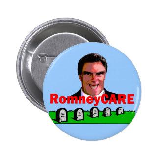 RomneyCare Pin Redondo De 2 Pulgadas