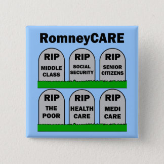 RomneyCARE Pinback Button