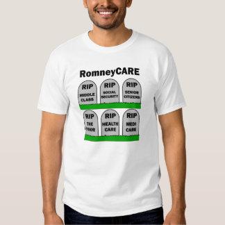 RomneyCARE Playeras