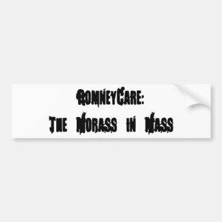 RomneyCare: The Morass in Mass Car Bumper Sticker