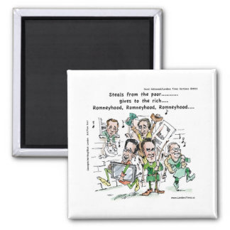 RomneyHood Funny Gifts Mugs Tees Cards Etc. Fridge Magnets