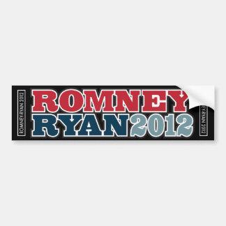 RomneyRyan2012 Bumper Sticker