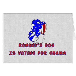 Romney's Dog Cards