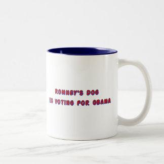 Romney's Dog Two-Tone Coffee Mug