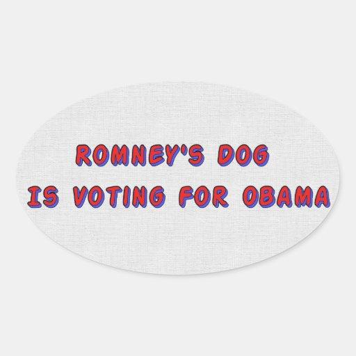 Romney's Dog Sticker