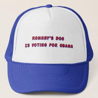 Romney's Dog Trucker Hat