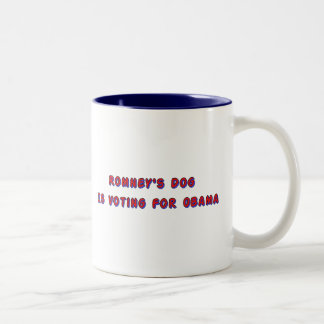 Romney's Dog Two-Tone Coffee Mug