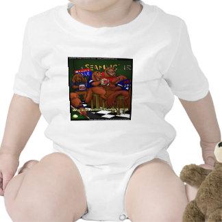 Romney's Irish Setters Funny Baby Bodysuit Bodysuits