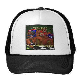Romney's Irish Setters Funny Gifts Tees Cards Etc Trucker Hat