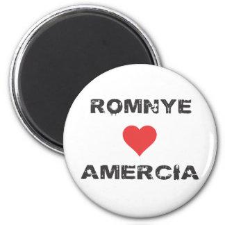 Romnye Luvs Amercia Magnet